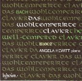 Album artwork for Bach: The Well-Tempered Clavier Book 2 (Hewitt)