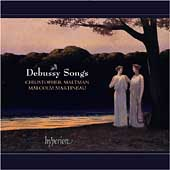 Album artwork for DEBUSSY - SONGS vol.1 / Maltman, Johnson