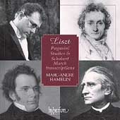 Album artwork for Liszt: Paganini Studies Schubert Marches / Hamelin