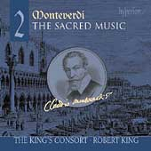 Album artwork for MONTEVERDI. Sacred Music Vol.2. King's Consort/Ki