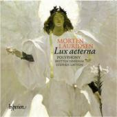 Album artwork for Lauridsen: Lux aeterna / Polyphony, Layton