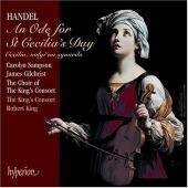 Album artwork for HANDEL. Ode for St. Cecilia's Day. King's Consor