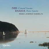 Album artwork for IVES: CONCORD SONATA; BARBER: PIANO SONATA