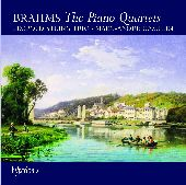 Album artwork for BRAHMS - PIANO QUARTETS 1 - 3 / THREE INTERMEZZI