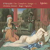 Album artwork for STRAUSS - THE COMPLETE SONGS Vol 1