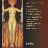 Album artwork for SCHWANTNER - ANGELFIRE, SEPTEMBER CANTICLE