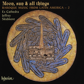 Album artwork for Moon, sun & all things. Ex Cathedra/Skidmore