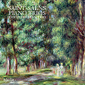 Album artwork for SAINT-SAENS - PIANO TRIOS / Florestan Trio