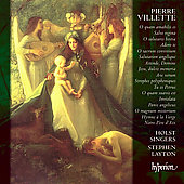 Album artwork for VILLETTE - MOTETS