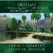 Album artwork for Brahms: String Quartet & Piano Quintet