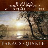 Album artwork for Brahms: String Quartets (Takacs Quartet)