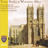 Album artwork for Trinity Sunday at Westminster Abbey