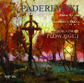 Album artwork for Paderewski: Piano Sonata, Variations, Fugues