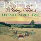 Album artwork for Taneyev: String Trios