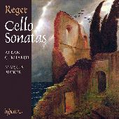 Album artwork for Reger: Cello Sonatas / Gerhardt, Becker