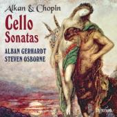 Album artwork for Alkan & Chopin: Cello Sonatas (Gerhardt)