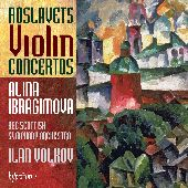 Album artwork for Roslavets : Violin Concertos No. 1 & 2