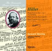 Album artwork for Hiller: Romantic Piano Concerto Vol. 45