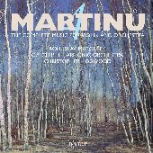 Album artwork for Martinu: Music for Violin and Orchestra vo.4