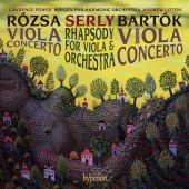 Album artwork for Rózsa, Bartók & Serly: Viola Concertos / Power