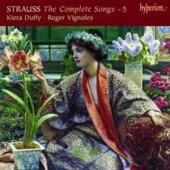Album artwork for Strauss: The Complete Songs, Vol. 5