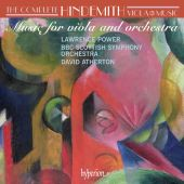 Album artwork for Hindemith: Complete Music for Viola & Orchestra