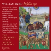 Album artwork for Byrd: Infelix ego, vol. 13 / Cardinall's Musick