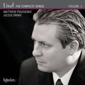 Album artwork for Liszt: The Complete Songs, VOL. 1 / Polenzani