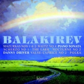 Album artwork for Balakirev: Piano Sonata & other works / Driver