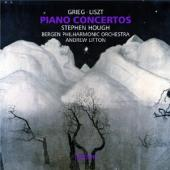 Album artwork for Grieg/Liszt: Piano Concertos / Hough