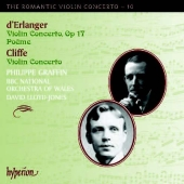 Album artwork for The Romantic Violin Concerto, Vol. 10