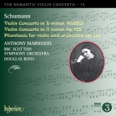 Album artwork for Schumann: Violin Concertos / Marwood