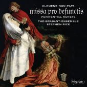 Album artwork for Clemens non papa: Requiem & Penitential Motets