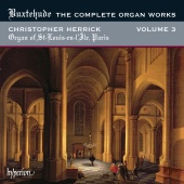 Album artwork for Buxtehude: The Complete Organ Works, Vol.3