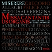 Album artwork for Allegri's Miserere & the music of Rome
