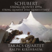Album artwork for Schubert: String Quintet, Quartettsatz / Takacs