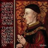 Album artwork for Music for Henry V & the House of Lancaster