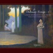 Album artwork for Debussy: Songs vol.2 / Anderson, Milne, Martineau