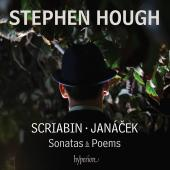 Album artwork for Stephen Hough plays Janacek and Scriabin