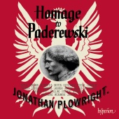 Album artwork for Homage to Paderewski / Plowright