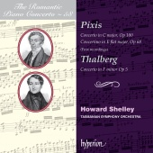 Album artwork for Pixis, Thalberg: Romatic Piano Concerto #58