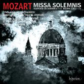 Album artwork for MOZART. Missa solemnis. St Paul's Cathedral Choir