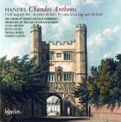 Album artwork for HANDEL. Chandos Anthems / Layton