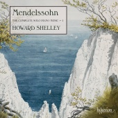Album artwork for Mendelssohn: The Complete Solo Piano Music Vol.1.