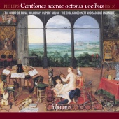 Album artwork for Philips: Cantiones sacrae. Royal Holloway Choir/Go