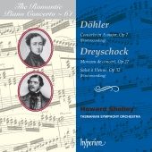 Album artwork for Dohler, Dreyschock: Piano Concerti Romantic Vol.61