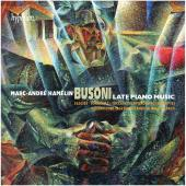 Album artwork for Busoni: Late Piano Music. Hamelin