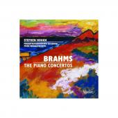 Album artwork for Brahms: Piano Concertos -  Stephen Hough