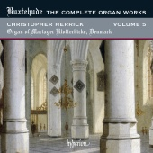 Album artwork for Buxtehude: The Complete Organ Works Vol.5