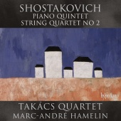 Album artwork for SHOSTAKOVICH. Piano Quintet. Hamelin/Takacs Quarte